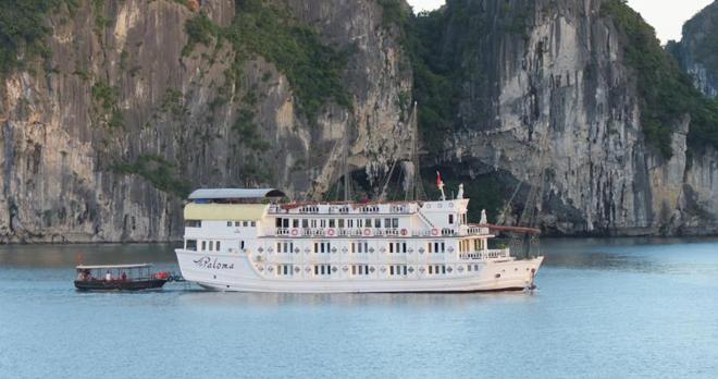 Du thuyền Paloma Hạ Long