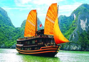 Du thuyền Calypso Hạ Long