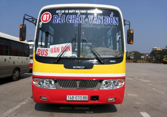 Bắt xe đi Hạ Long từ Hà Nội