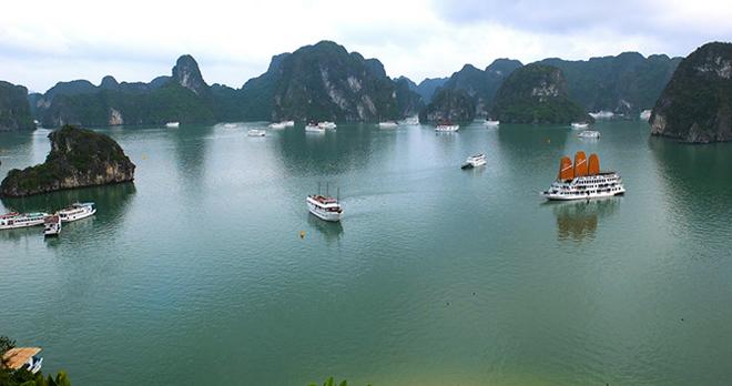 Tour ghép tàu thăm quan Hạ Long trong ngày- buổi sáng/trưa