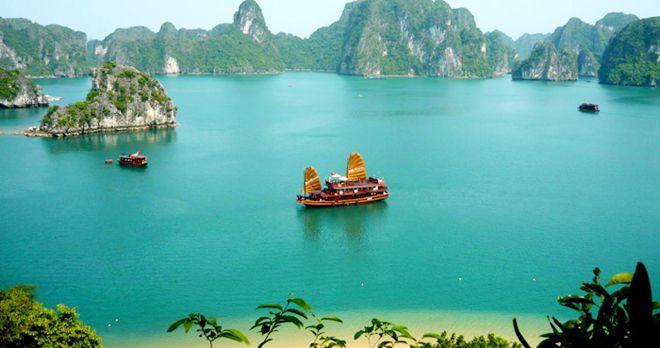 Giá vé thắng cảnh, vé tàu tham quan vịnh Hạ Long