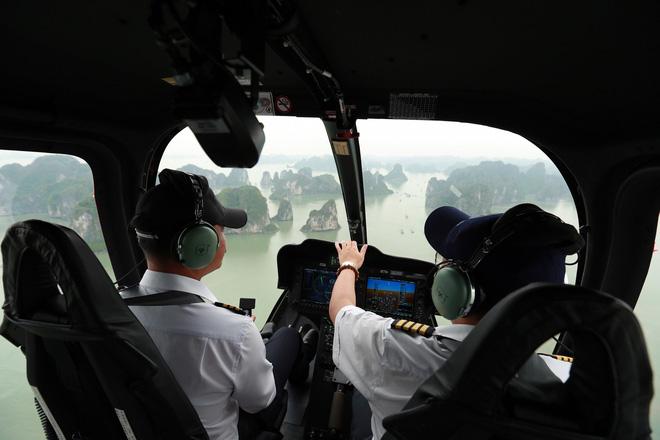 thăm quan bịnh hạ long bằng trực thăng